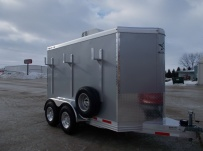 Bumper Pull Enclosed Cargo Trailers - BPDF 95