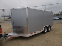 Bumper Pull Enclosed Cargo Trailers - BPDF 96B