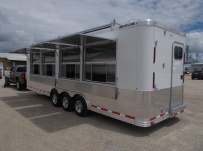 Bumper Pull Enclosed Cargo Trailers - BPDF 97B