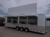 Bumper Pull Enclosed Cargo Trailers - BPDF 97C