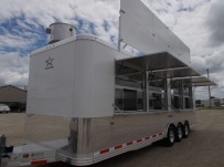 Bumper Pull Enclosed Cargo Trailers - BPDF 97D