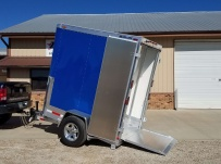 Bumper Pull Enclosed Cargo Trailers - BPDF 98B