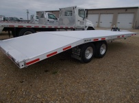 Bumper Pull Heavy Equipment Flatbed Trailers - BPF 41A