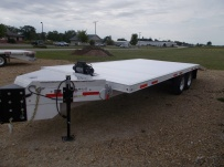 Bumper Pull Heavy Equipment Flatbed Trailers - BPF 41B