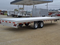 Bumper Pull Heavy Equipment Flatbed Trailers - BPF 46A