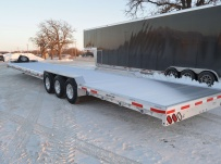 Bumper Pull Heavy Equipment Flatbed Trailers - BPF 47A