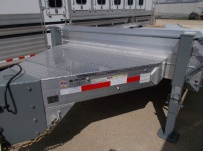 Bumper Pull Heavy Equipment Flatbed Trailers - BPF 48A