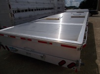 Bumper Pull Heavy Equipment Flatbed Trailers - BPF 48B