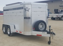 Dual Line Small Livestock Trailers - DL 28B
