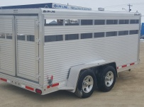 Dual Line Small Livestock Trailers - DL 29B
