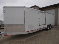 Bumper Pull Automotive All Aluminum Enclosed Trailers - BPA 86A