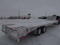 Gooseneck Heavy Equipment Flatbed Trailers - GNF 126A