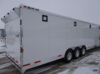 Gooseneck Automotive All Aluminum Enclosed Trailers - GNA 38A