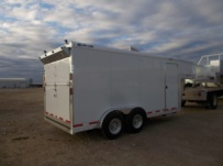 Gooseneck Automotive All Aluminum Enclosed Trailers - GNA 40A