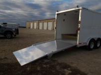 Gooseneck Automotive All Aluminum Enclosed Trailers - GNA 40C