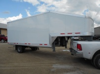 Gooseneck Enclosed Cargo Trailers - GNDF 63