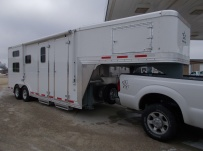 Gooseneck Enclosed Cargo Trailers - GNDF 64A