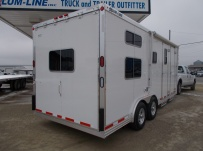 Gooseneck Enclosed Cargo Trailers - GNDF 64B