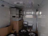 Gooseneck Enclosed Cargo Trailers - GNDF 68A