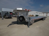 Gooseneck Heavy Equipment Flatbed Trailers - GNF 113A
