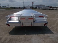 Gooseneck Heavy Equipment Flatbed Trailers - GNF 115B