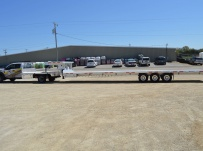 Gooseneck Heavy Equipment Flatbed Trailers - GNF 117