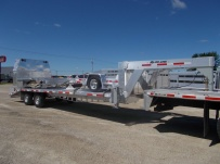 Gooseneck Heavy Equipment Flatbed Trailers - GNF 118