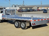 Gooseneck Heavy Equipment Flatbed Trailers - GNF 120