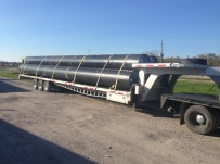 Gooseneck Heavy Equipment Flatbed Trailers - GNF 122