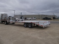 Gooseneck Heavy Equipment Flatbed Trailers - GNF 124
