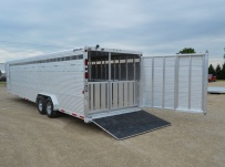 Commercial Gooseneck Livestock Trailers - GNL 108A