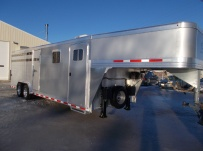 Commercial Gooseneck Livestock Trailers - GNL 112A