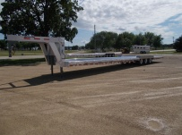 Gooseneck Low Profile Heavy Equipment Flatbed Trailers - GNLPF 46B