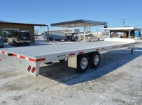Gooseneck Heavy Equipment Flatbed Trailers - GNF 110