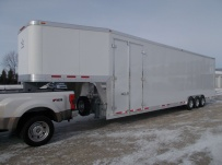 Gooseneck Enclosed Cargo Trailers - GNDF 70A