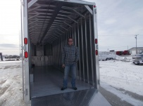 Gooseneck Enclosed Cargo Trailers - GNDF 70B