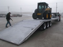 Gooseneck Heavy Equipment Flatbed Trailers - GNF 109A