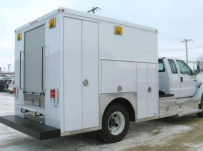 Enclosed Models Service Truck Bodies - SBE 22A
