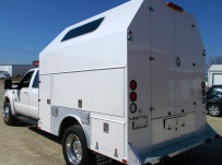 Enclosed Models Service Truck Bodies - SBE 40