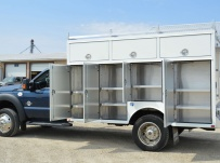 Enclosed Models Service Truck Bodies - SBE 43A