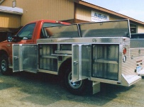 Open Middle Service Truck Bodies - SBO 14