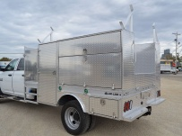 Open Middle Service Truck Bodies - SBO 60A
