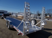 Bumper Pull Heavy Equipment Skid Loader Trailer - SKL 48A