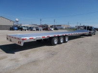 Gooseneck Heavy Equipment Flatbed Trailers - GNF 111B