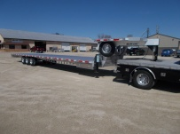 Gooseneck Heavy Equipment Flatbed Trailers - GNF 111C