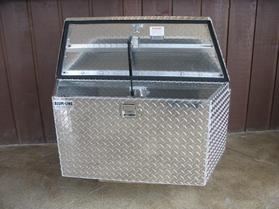 Standard Models Top Lid Aluminum Boxes