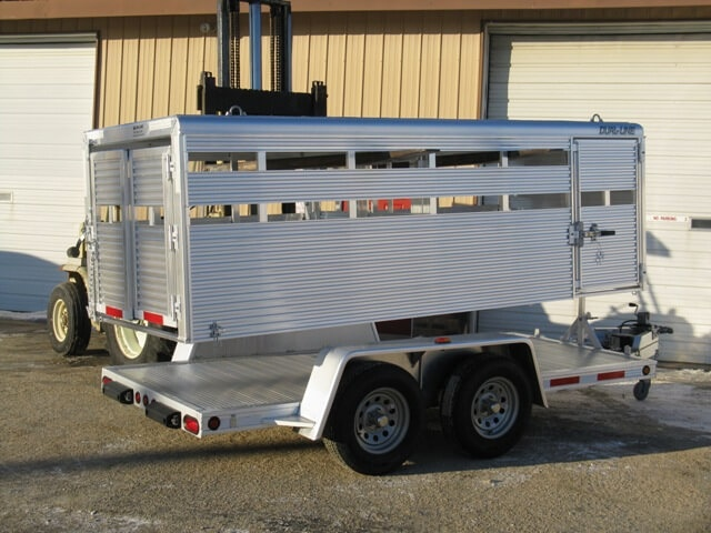 Custom All Aluminum Trailers Truck Bodies Boxes For Sale