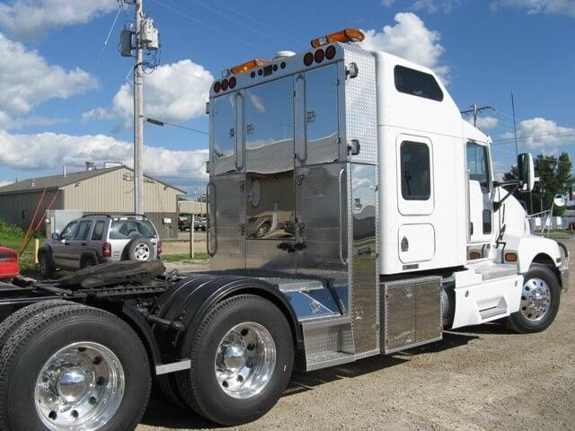 Semi Tractor Accessories : Custom all aluminum trailers truck bodies boxes for sale