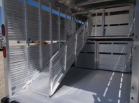 Commercial Double Deck Livestock Trailers - GNDD 47C