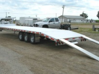 Gooseneck Heavy Equipment Flatbed Trailers - GNF 29B